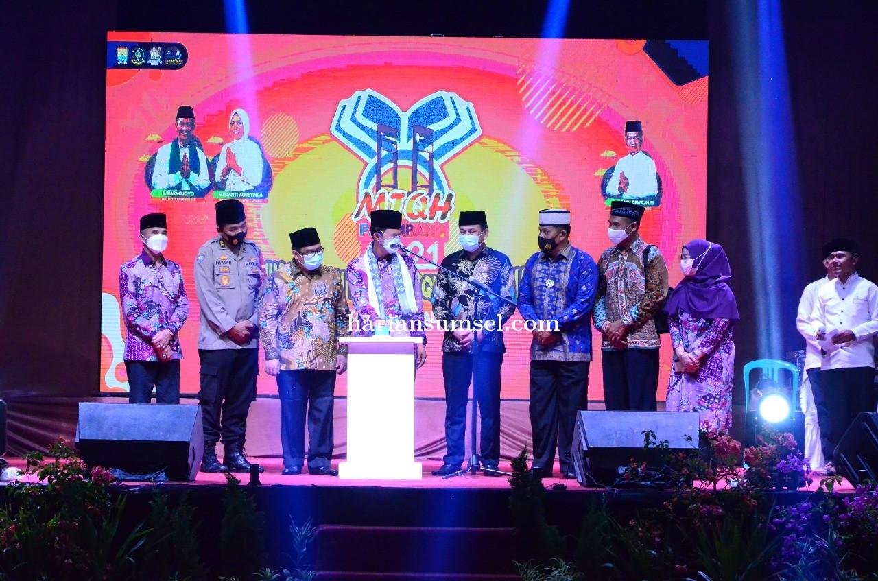 Pembukaan MTQH Tahun 2021 Disiarkan Secara Langsung  di Yotube Bravo Indonesia!