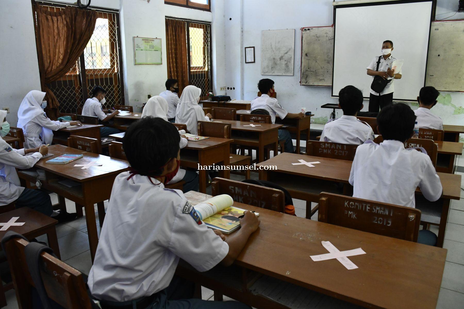 Pemkot Targetkan Sekolah Tatap Muka di Palembang Dimulai Juli Nanti