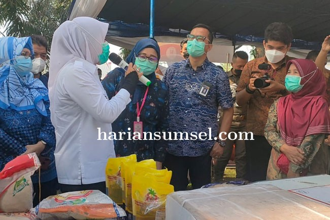 Masyarakat Palembang Berharap Agar Terus Berjalan Bazar Murah Selama Ramadhan